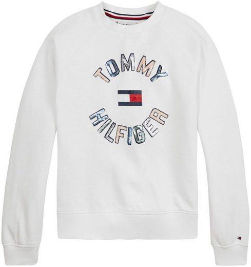 Tommy Hilfiger Sweatshirt »SEQUINS SWEATSHIRT«