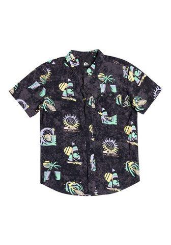 Quiksilver Marškiniai trumpom rankovėm »Island Pu...