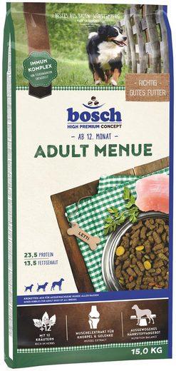 Bosch Petfood Trockenfutter »Adult Menue«, 15 kg