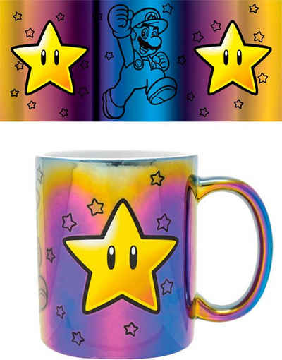 PYRAMID Tasse »Super Mario Star Power«, Keramik