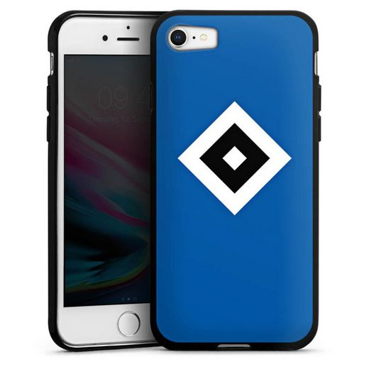 DeinDesign Handyhülle »HSV Blau« Apple iPhone 7, Hülle Hamburger SV Logo HSV