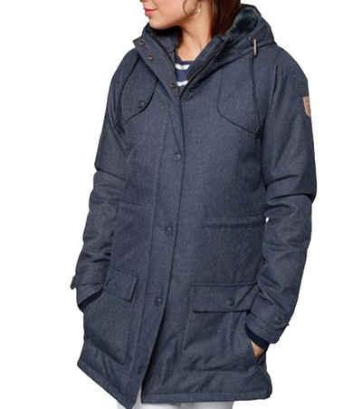 Derbe Parka »derbe Funktionsparka wasserabweisende Damen Outdoor-Jacke Wind-Jacke mit Kapuze Blau«