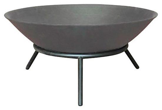 HOME DELUXE Feuerschale »Grey Bowl«, ØxH: 56x26 cm