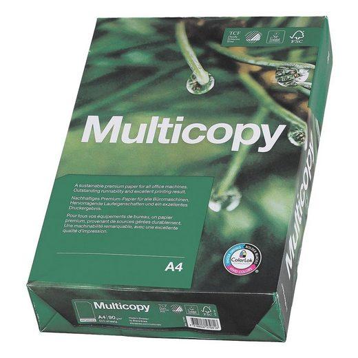 MULTICOPY Druckerpapier »MultiCopy«, Format DIN A4, 90 g/m²
