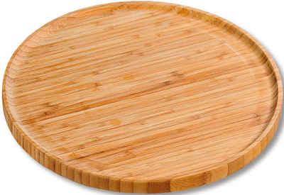 KESPER for kitchen & home Pizzateller, erhöhter Rand, Ø 32 cm