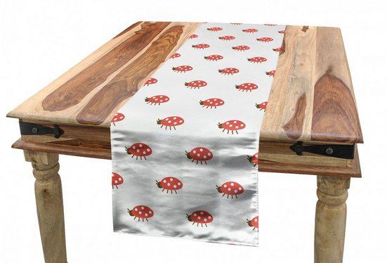 Abakuhaus Tischläufer »Esszimmer Küche Rechteckiger Dekorativer Tischläufer«, Marienkäfer Kleine Bugs Nursery
