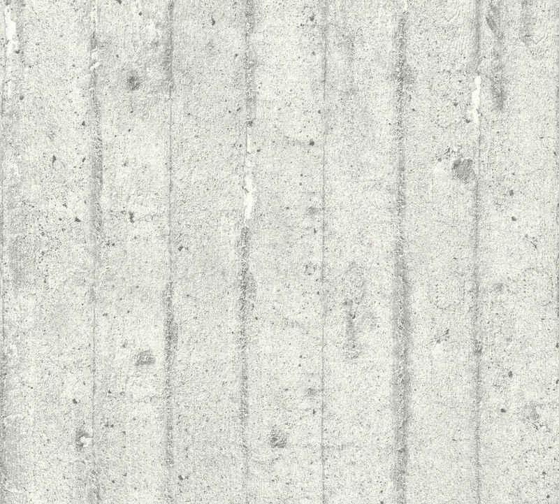living walls Vliestapete »Best of Wood`n Stone 2nd Edition«, Beton-Optik