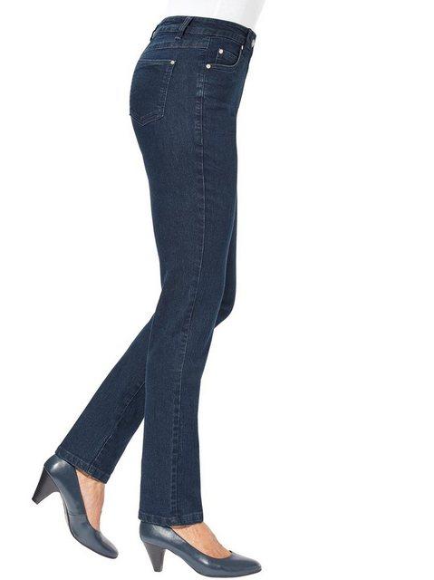 Hosen - Ambria 5 Pocket Jeans › blau  - Onlineshop OTTO