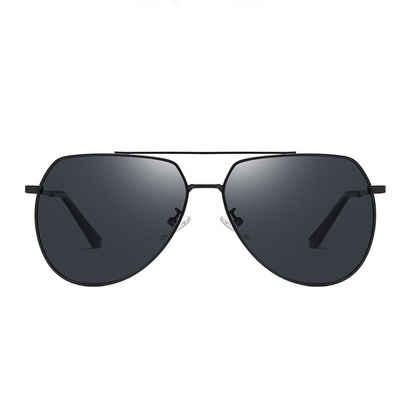 TOPMELON Pilotenbrille »Mode Fliegenpilz polarisierte Sonnenbrille« Brillengestelle aus Metall