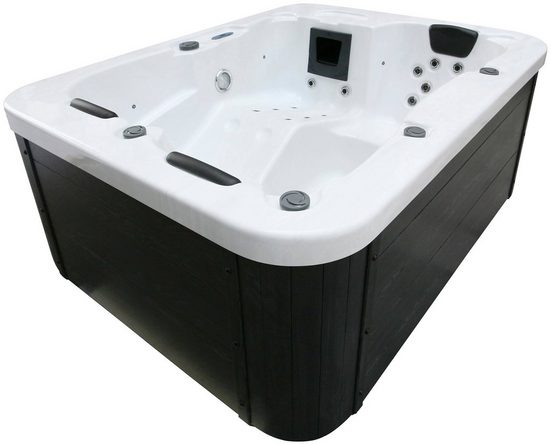 HOME DELUXE Whirlpool »White Marble«, BxLxH: 160x210x83 cm