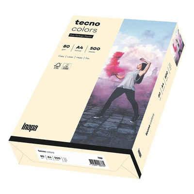 Inapa tecno Drucker- und Kopierpapier »Rainbow«, Pastellfarben, Format DIN A4, 80 g/m²