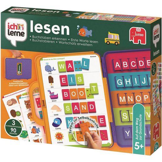 Jumbo Lernspielzeug »Ich lerne - Lesen«