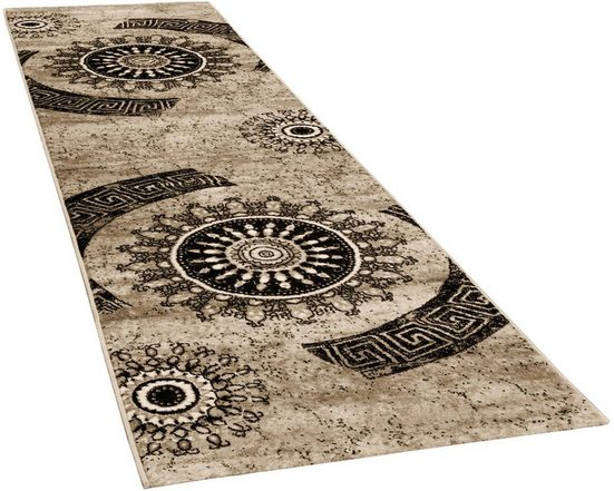 Läufer »Tibesti 447«, Paco Home, rechteckig, Höhe 16 mm, Teppich-Läufer, gewebt, Ornamente in dezenten Farbtöne