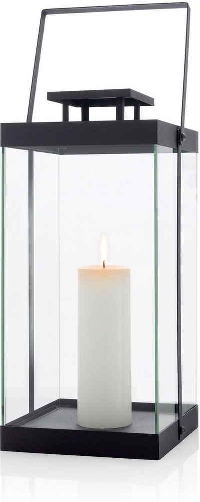 BLOMUS Kerzenlaterne »Laterne -FINCA- groß - black«