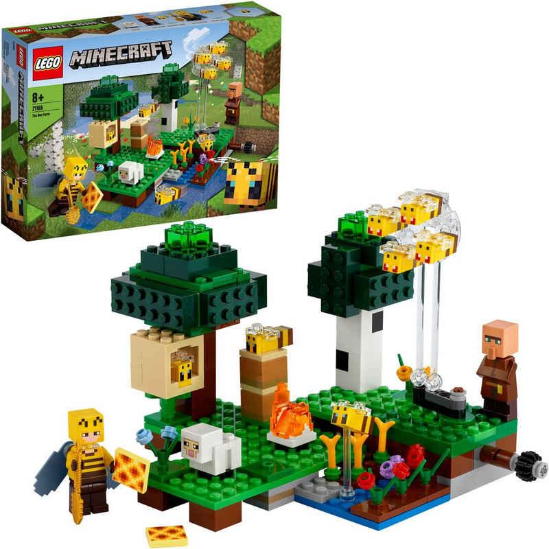 LEGO® Konstruktionsspielsteine »Die Bienenfarm (21165), LEGO® Minecraft™«, (238 St), Made in Europe