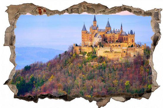 DesFoli Wandtattoo »Burg Hohenzollern Sehenswürdigkeit D1458«