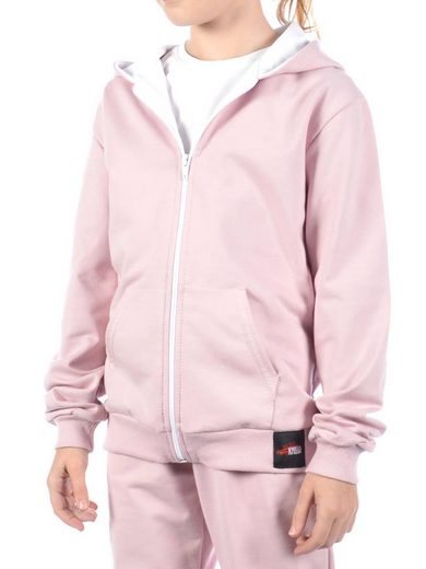 KMISSO Kapuzensweatshirt »Mädchen Kapuzen Sweatjacke Hoodie« (1-tlg) Hoodie