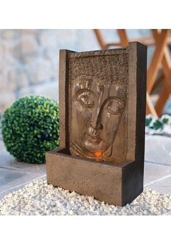 Heissner Sodo fontanas »BUDDHA LED« 23 cm Breit...