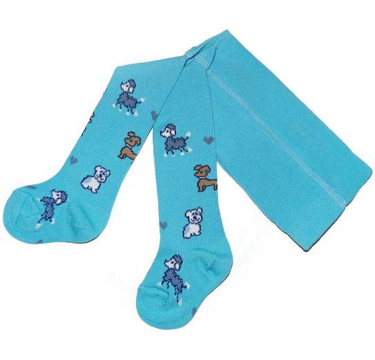 WERI SPEZIALS Strumpfhersteller GmbH Strickstrumpfhose »Die lustige Tiere - Strumpfhosen für Mädchen und Jungen« (1 Stück)