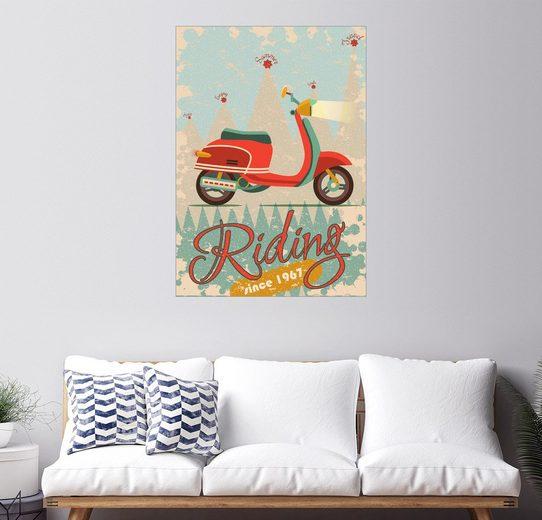 Posterlounge Wandbild, Premium-Poster Fahren
