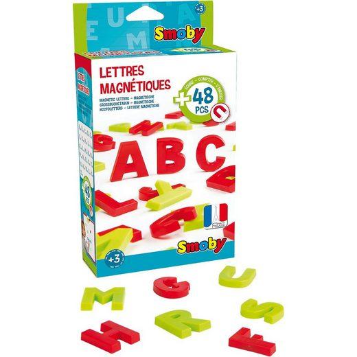 Smoby Tafel »48 Magnetbuchstaben«