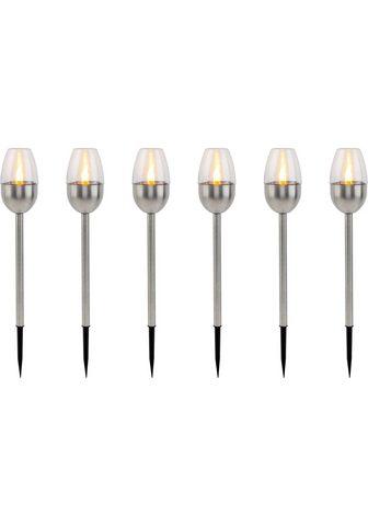 my home LED sodo fakelas »Caia« Edelstahl Sola...