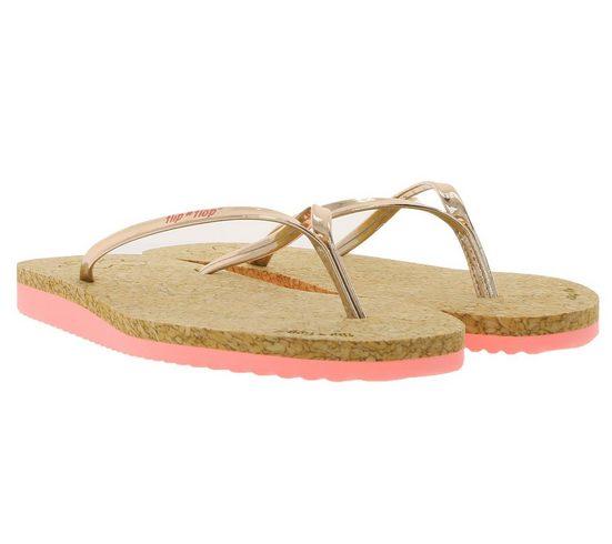 Flip Flop »flip*flop Haus-Schlappen modische Damen Zehentrenner Sommer-Schuhe Roségold« Schlappen