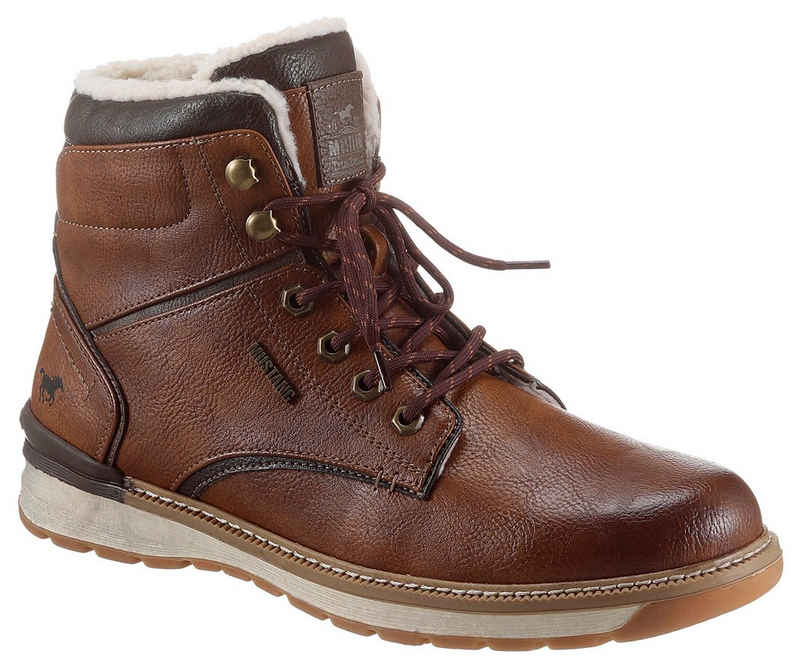 Mustang Shoes Schnürboots mit gepolsterter Innensohle