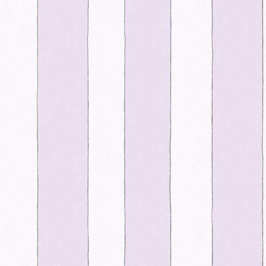 Marburg Vliestapete »weiß-rosa«, Streifen, restlos abziehbar