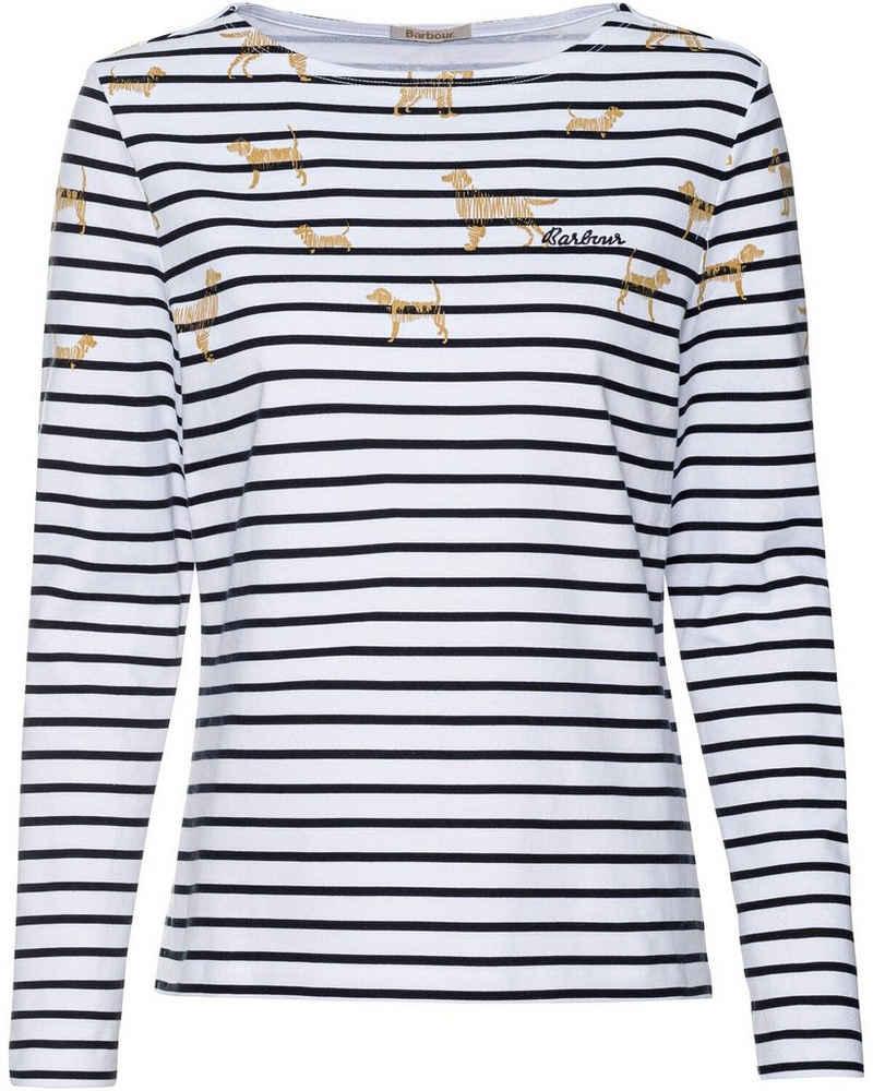 Barbour Sweater »Langarm-Shirt Hawkins«