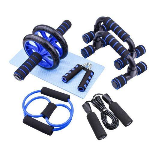 esyBeFit Bauchtrainer »Persönliche Fitnessgeräte, Heimfitness, Kombination aus Bauchmuskeltraining, T06-0011« (6-St)