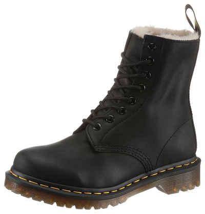 Damen Winterschuhe Worker Boots Stiefel Stiefeletten Gefüttert 18972 Beige 36-41