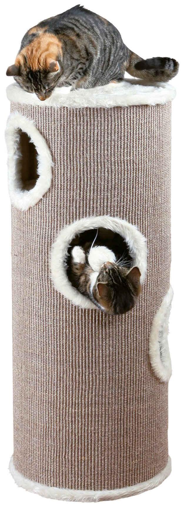 TRIXIE Kratzbaum »Cat Tower Edoardo«, ØxH: 40x100 cm