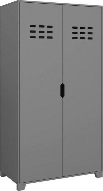 Schränke und Kommoden - STEENS Drehtürenschrank »Loke« Kleiderschrank für das Jugendzimmer  - Onlineshop OTTO