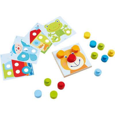 Haba Steckspielzeug »Steckspiel kunterbunte Welt«