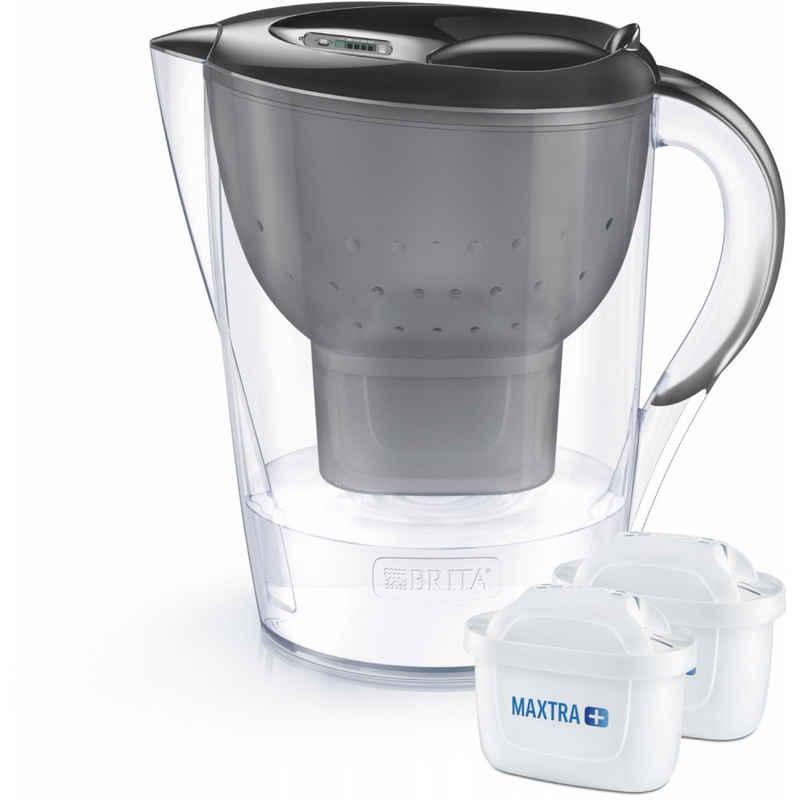 BRITA Wasserfilter Marella XL - Tischwasserfilter - graphit