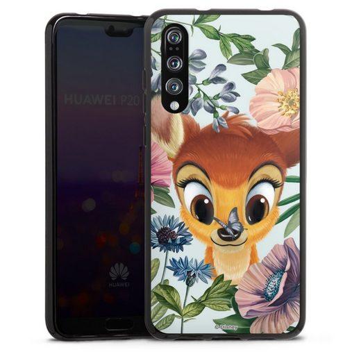 DeinDesign Handyhülle »Bloomy Bambi« Huawei P20 Pro, Hülle Disney Offizielles Lizenzprodukt Bambi