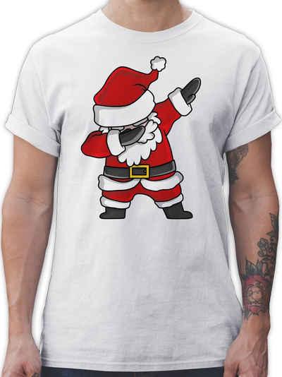 Shirtracer T-Shirt »Dabbing Weihnachtsmann - Weihnachten & Silvester - Herren Premium T-Shirt«