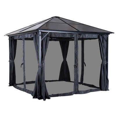 Outsunny Pavillon »Gartenpavillon mit Seitenteilen«