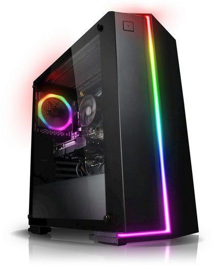 Kiebel Gaming-PC (Intel Core i5, RTX 2070 SUPER, 16 GB RAM, 1000 GB HDD, 500 GB SSD, Luftkühlung)