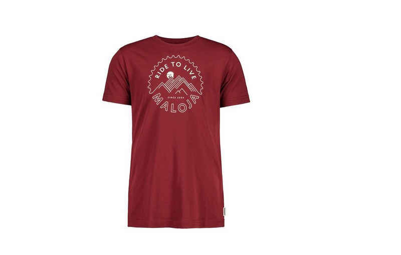 Maloja T-Shirt »Maloja T-Shirt BARTOLOME rot«