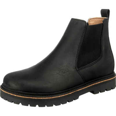 Birkenstock »Stalon Waxy Nubuck Nubukleder Chelsea Boots schmal« Chelseaboots