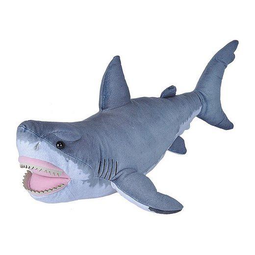 WILD REPUBLIC  Kuscheltier »LIVING OCEAN Großer Weißer Hai«