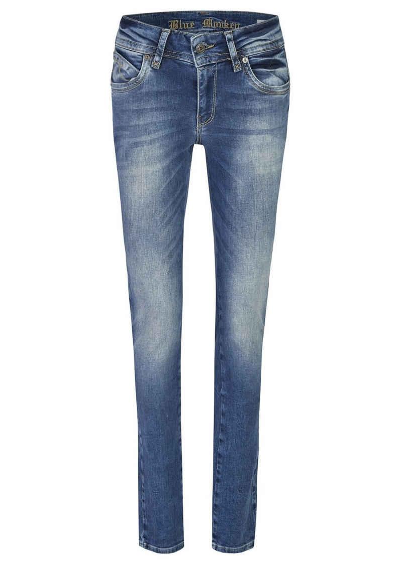 Blue Monkey Slim-fit-Jeans »Laura« (1-tlg)