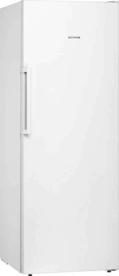 SIEMENS Gefrierschrank iQ300 GS29NVWEP, 161 cm hoch, 60 cm breit