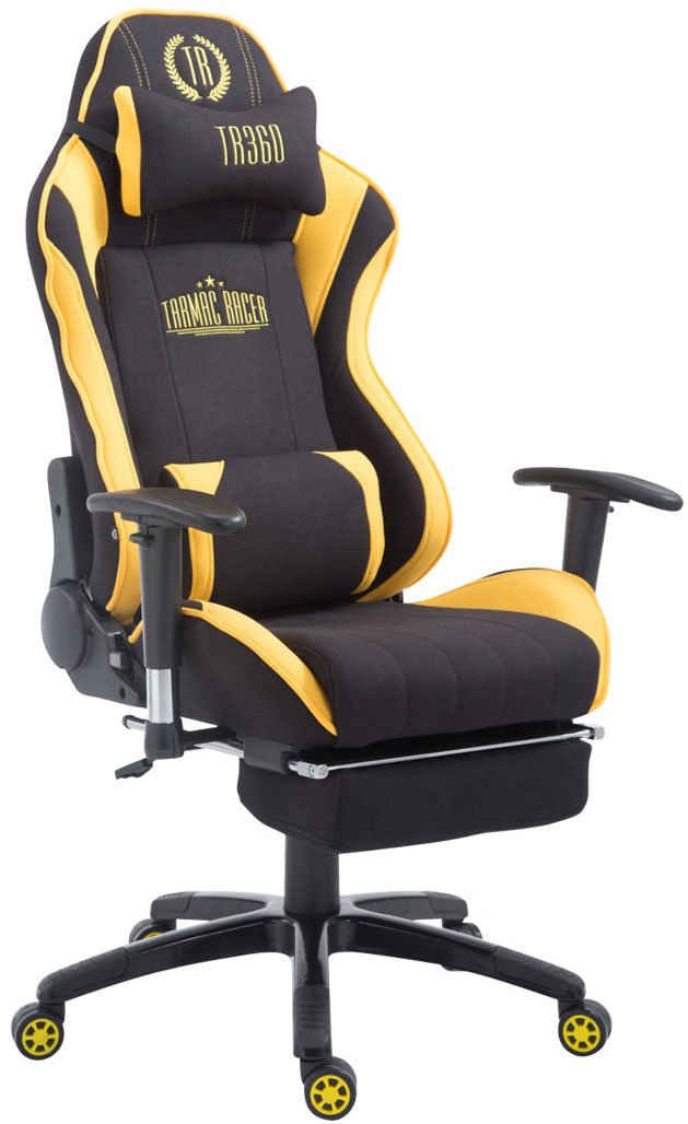 CLP Gaming Chair »Shift V2 Stoff«, Gamingstuhl höhenverstellbar drehbar