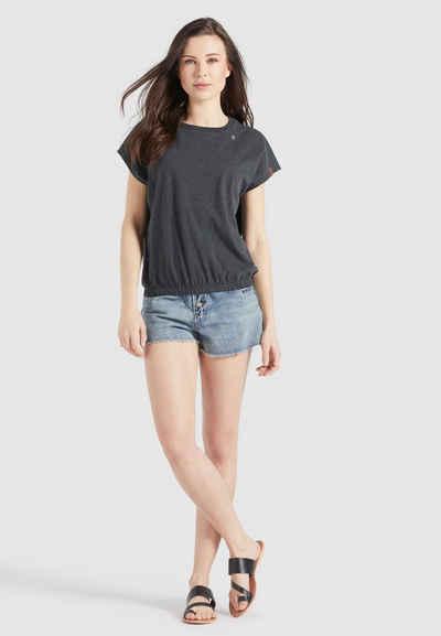 khujo T-Shirt »MARIKA« aus weichem Jersey im Loose Fit