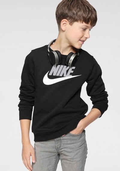 Nike Sportswear Sweatshirt »B NSW CLUB FUTURA CREW«