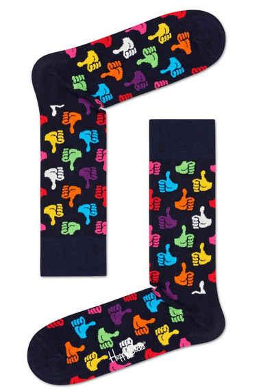 Happy Socks Socken »Thumbs Up« mit knalligen Daumen Hoch Motiven