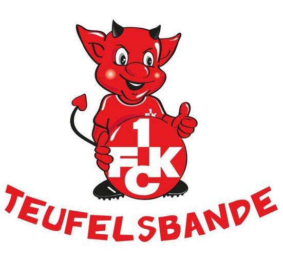 Wall-Art Wandtattoo »1.FC Kaiserslautern Teufelsbande« (1 Stück)
